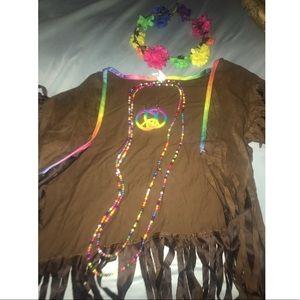 Hippie costume set